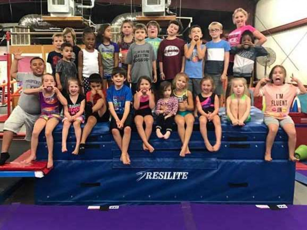 gymnastics parties in Lufkin, TX